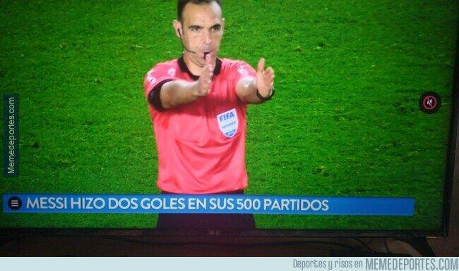 1097282 - Se acabó la mentira: Messi hace un gol cada 250 partidos