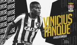 Enlace a El Cartagena ha fichado a un tal 'Vinicius Tanque' del Botafogo y todos los aficionados brasileños están respondiendo de forma épica por sacarse de encima a tal paquete
