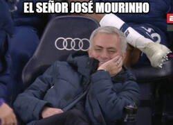Enlace a A Mourinho no lo transnocha la posesión