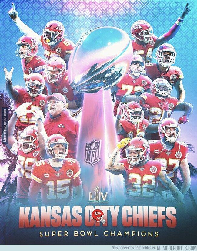 1097424 - Kansas City se lleva la Super Bowl 50 años depués
