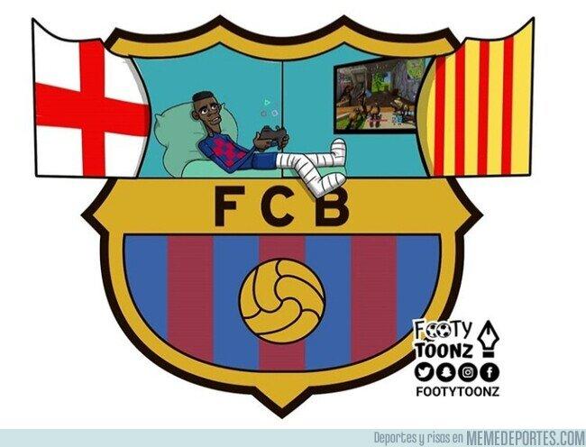 1097519 - La carrera de Dembélé en el Barcelona hasta ahora, por @footytoonz