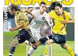 Enlace a ¿Recuerdas esta mítica portada en la que comparaban a Diego Capel con Messi y Cristiano? Pues ojo a esta novedad con la que te reirás