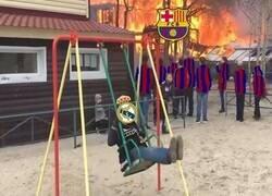 Enlace a La cosa está que arde en el Barça