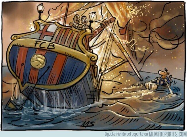 1097621 - El barco azulgrana se hunde, por @yesnocse