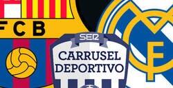 Enlace a Atención al doble rasero increíble del titular de 'Carrusel Deportivo' después de caer eliminado Barça y Real Madrid en Copa del Rey