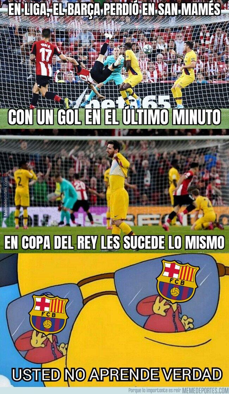 1097829 - El Barça vuelve a tropezar dos veces con la misma piedra