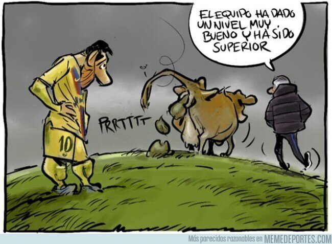 1097910 - El Barça echa pestes, por @yesnocse