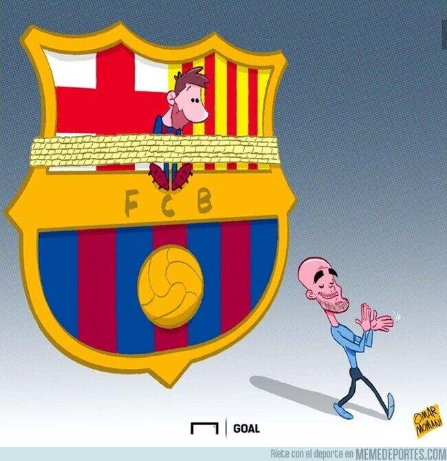 1097919 - Guardiola ata el futuro de Messi junto al Barça, por @goalglobal