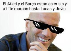 Enlace a Los de Zidane no aflojan en Liga