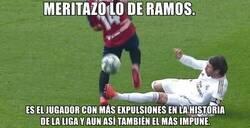 Enlace a Increíble lo de Ramos