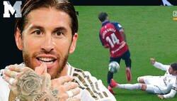 Enlace a El periodista Isaac Fouto intenta manipular descaradament diciendo que Sergio Ramos no golpea al jugador de Osasuna y todo Twitter le retrata