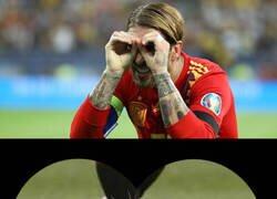 Enlace a Ramos solo quería ayudar al pobre jugador de Osasuna