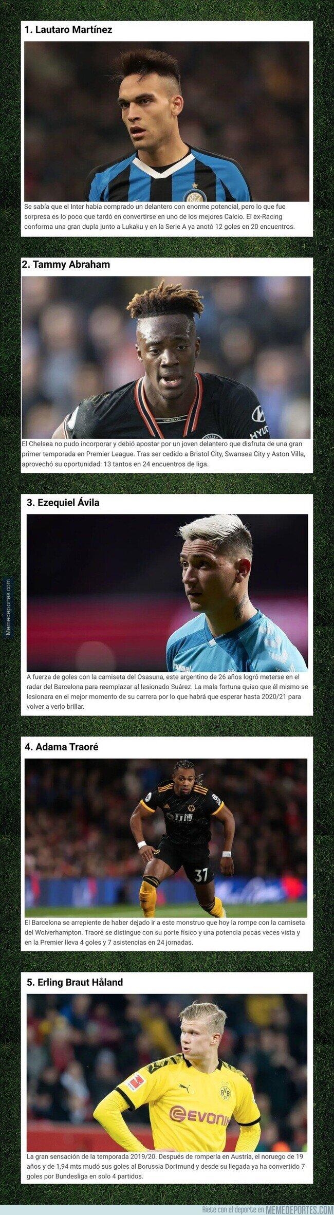 1098094 - Cinco grandes revelaciones del fútbol europeo en esta temporada