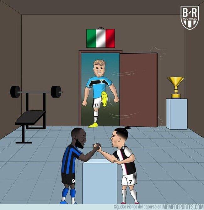 1098135 - La Lazio se entromete en la pelea por el título, a un solo punto de Inter y Juve, por @brfootball