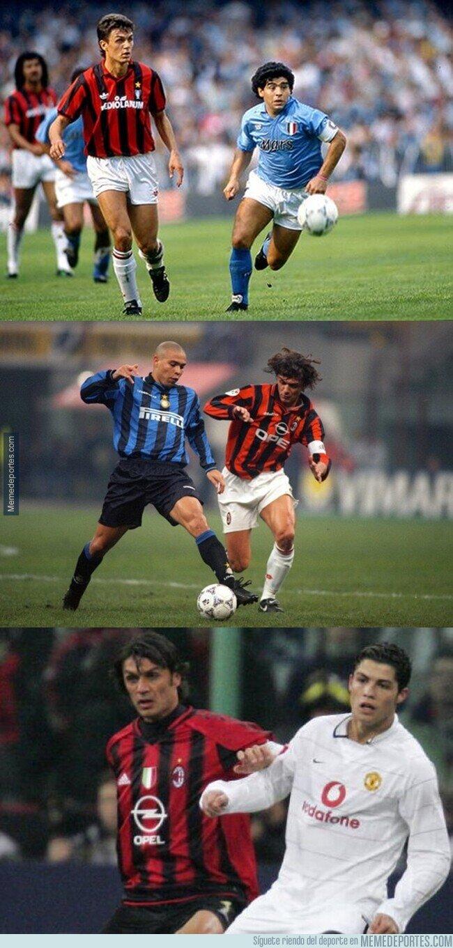 1098222 - Maldini se enfrentó a lo mejor de 3 generaciones del fútbol