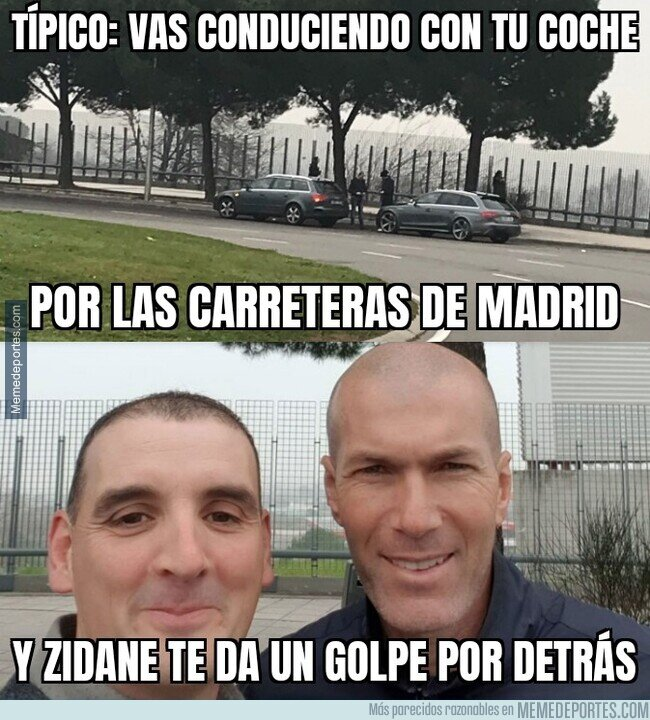 1098241 - El incidente vial de Zidane en los alrededores de Valdebebas