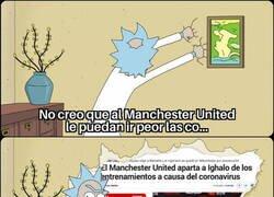 Enlace a Al United no le dejan de ocurrir cosas malas