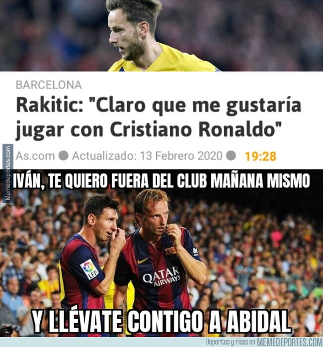1098301 - Messi despide a Rakitic