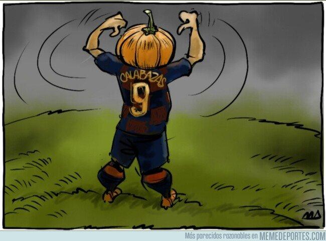 1098307 - Al Barça le siguen dando calabazas por el 9, por @yesnocse