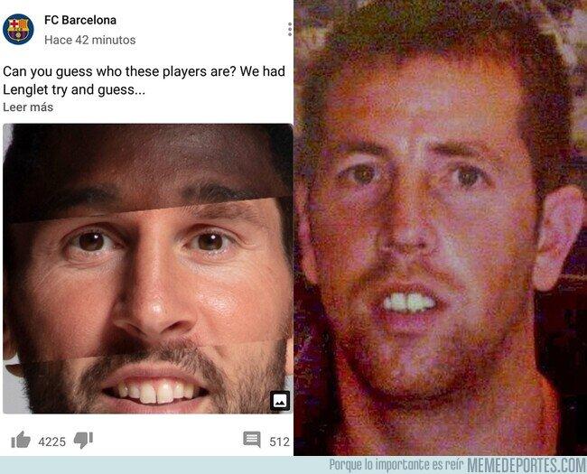 1098336 - Alguien descubrió que si fusionas a Dembélé, Messi y Jordi Alba te sale El Chicle