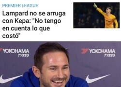 Enlace a La última palabra la tendrá Lampard, Kepa-ra eso es el entrenador