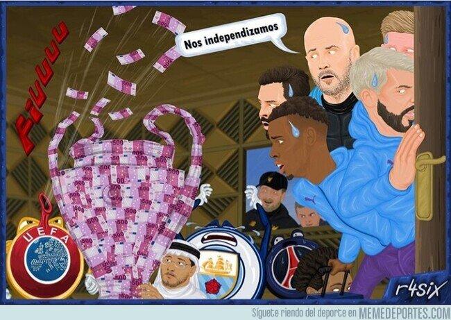 1098372 - Tendrán que construirse su propia Champions con su dinero, por @R4six