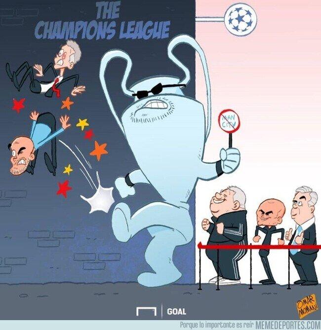 1098388 - No hay lugar en la Champions para los equipos de Manchester, por @goalglobal