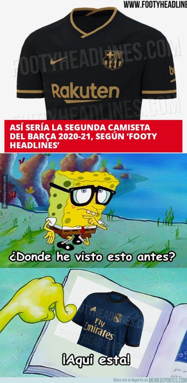 1098448 - El Barça vestirá muy similar al Madrid como visitante