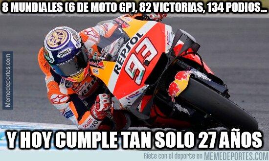 1098549 - Con la edad que tiene, Marc Márquez puede lograr números inalcanzables