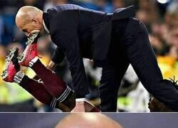 Enlace a Una ortodoncia para Zidane.