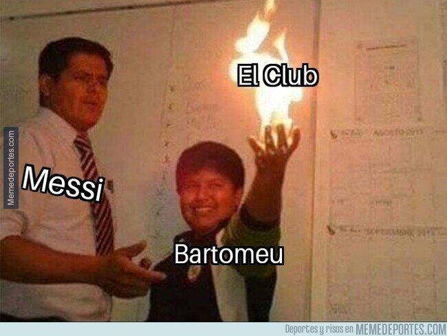 1098643 - Messi se debe de estar tirando de los pelos con la situación del club