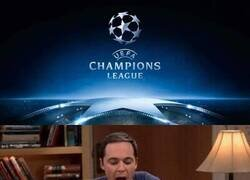 Enlace a Cuando tienes que trabajar en horario de Champions
