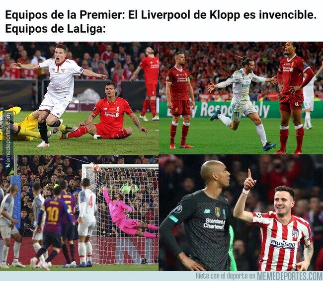 1098802 - Los equipos españoles sí que saben meterle mano a este Liverpool