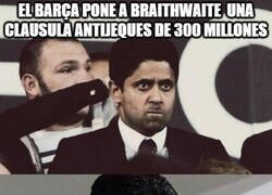 Enlace a Braithwaite próximo objetivo del PSG