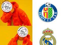 Enlace a El Ajax y los equipos madrileños