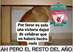 Enlace a La actitud de los aficionados del Liverpool