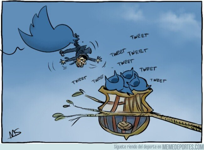 1098960 - Las redes sociales se comen a Bartomeu, por @yesnocse