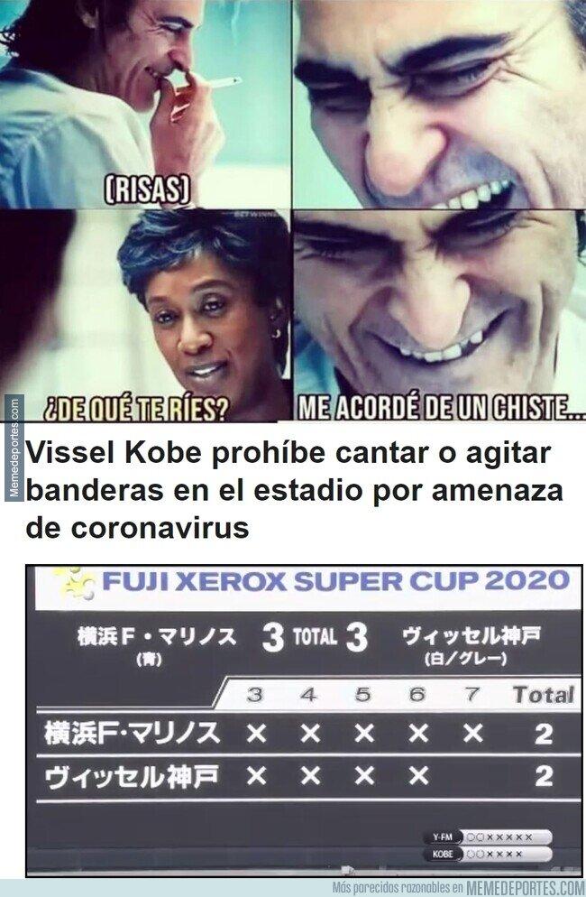 1098985 - La sórdida precaución del Vissel Kobe de cara al coronavirus