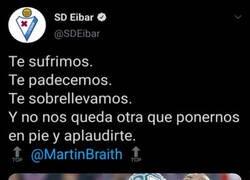 Enlace a El Eibar postrándose ante el mejor