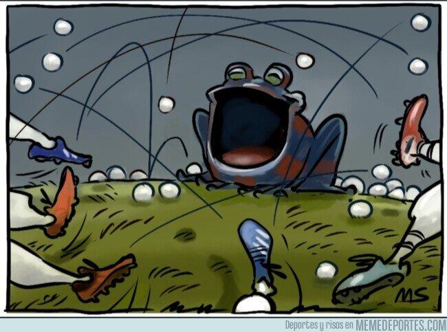 1099043 - No hubo manera de meterla en el feudo granota, por @yesnocse