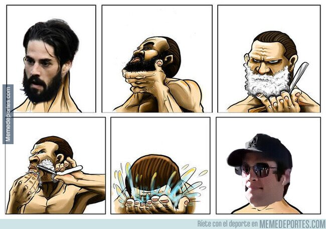 1099077 - Casi que prefiero la barba talibán a los cachetes de bebé