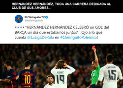 Enlace a Hernández Hernández, un culé de corazón