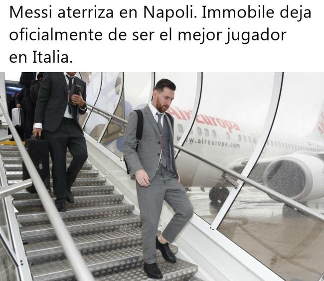 1099131 - Messi pisa Nápoles