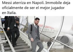 Enlace a Messi pisa Nápoles