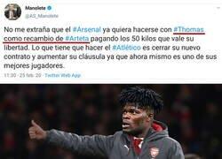 Enlace a Según Manolete, el Arsenal quiere a Thomas para que sea su entrenador