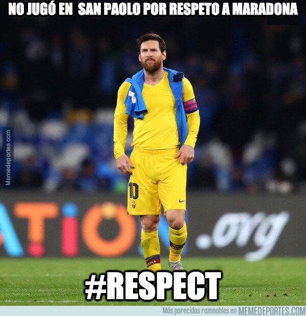 1099229 - Messi se ha ganado mi respeto