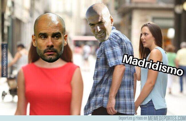 1099249 - Tanta flor de Zidane a Pep mosquea al madridismo
