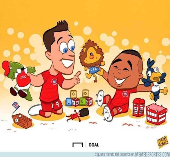 1099254 - Los equipos londinenses son un juego de niños para el Bayern, por @goalglobal