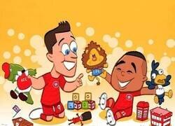 Enlace a Los equipos londinenses son un juego de niños para el Bayern, por @goalglobal