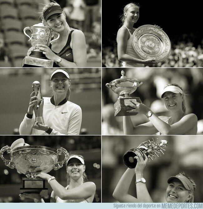 1099267 - Maria Sharapova anuncia su retiró con 32 años y 36 títulos